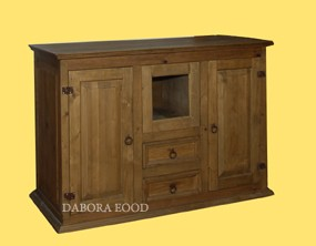 Cabinets in Wood